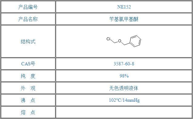 苄基氯甲基醚(3587-60-8)