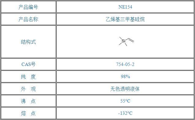 乙烯基三甲基硅烷(754-05-2)