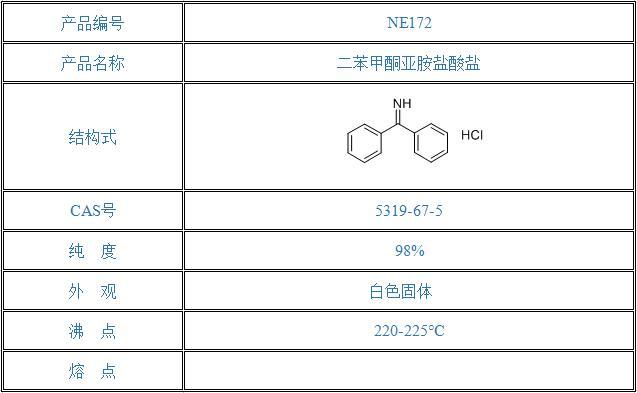 二苯甲酮亚胺盐酸盐(5319-67-5)