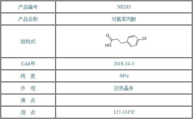 对氯苯丙酸(2019-34-3)