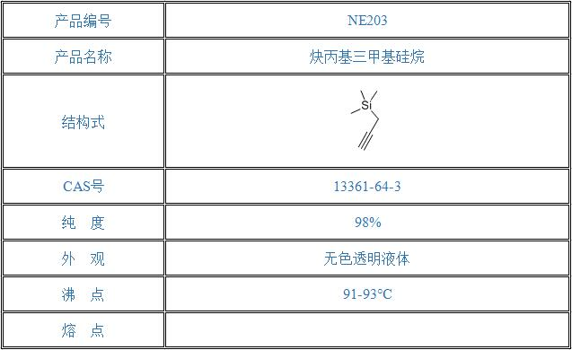 炔丙基三甲基硅烷(13361-64-3)