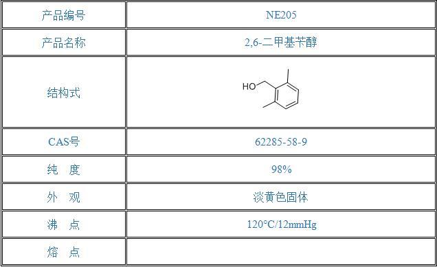 2,6-二甲基苄醇(62285-58-9)