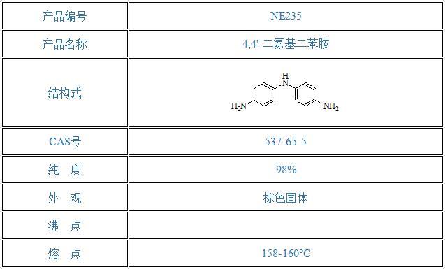 4,4'-二氨基二苯胺(537-65-5)