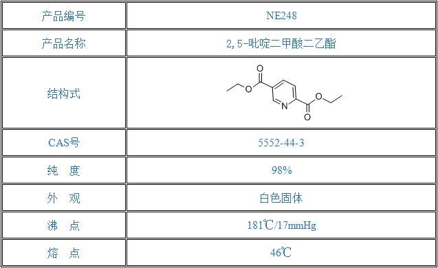 2,5-吡啶二甲酸二乙酯(5552-44-3)