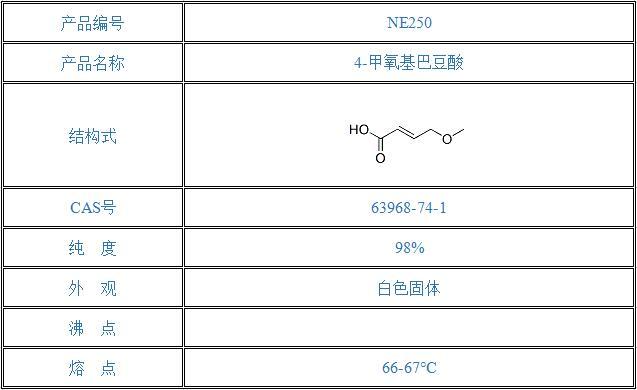 4-甲氧基巴豆酸(63968-74-1)