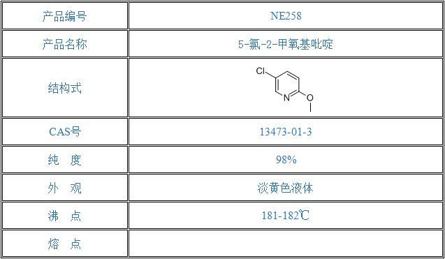 5-氯-2-甲氧基吡啶(13473-01-3)