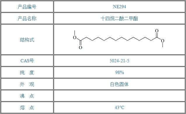 十四烷二酸二甲酯(5024-21-5)