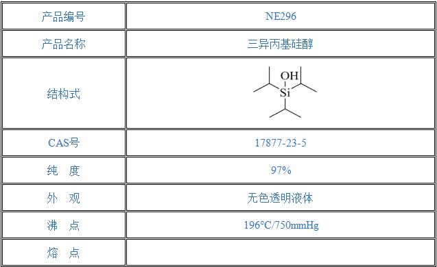 三异丙基硅醇(17877-23-5)